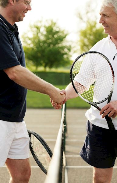 Fair play is insisted upon at Armley Tennis Club
