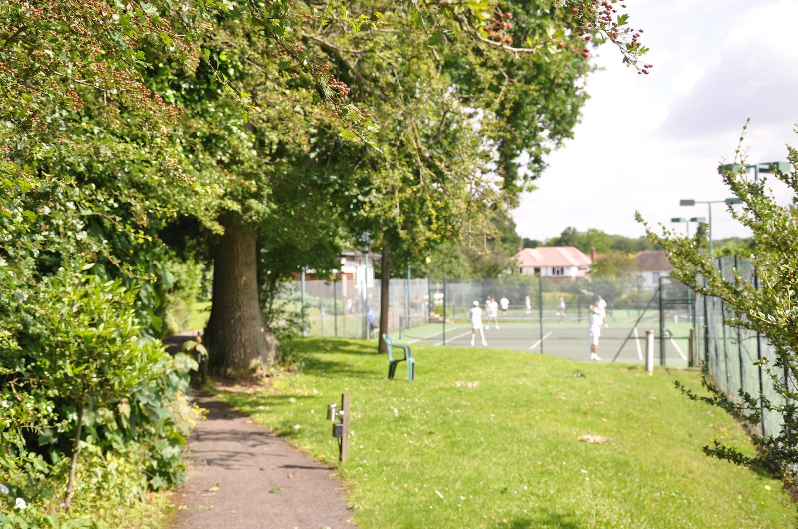 Social play under way at Knoll Orpington Lawn Tennis Club