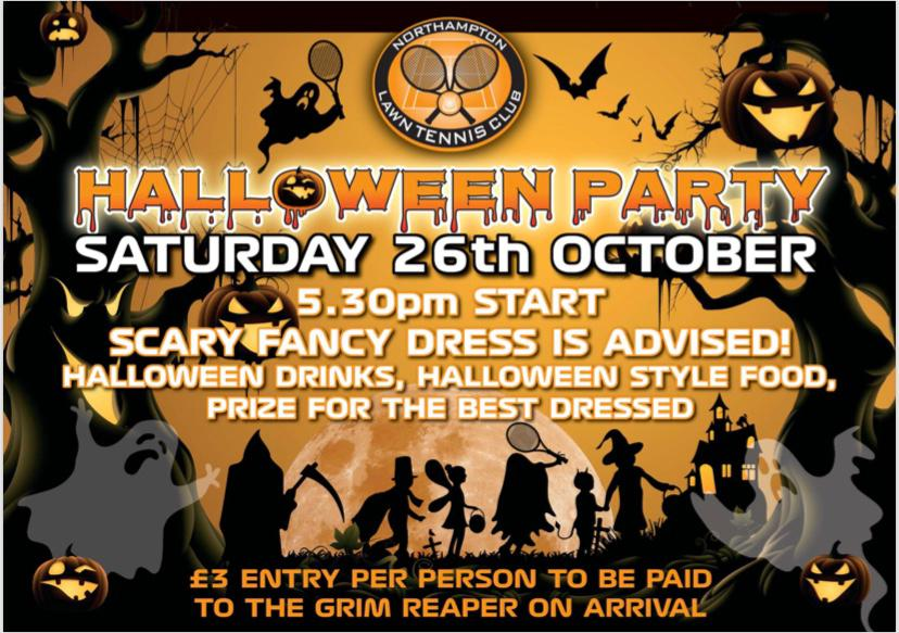 Halloween Party - 26th October 2019