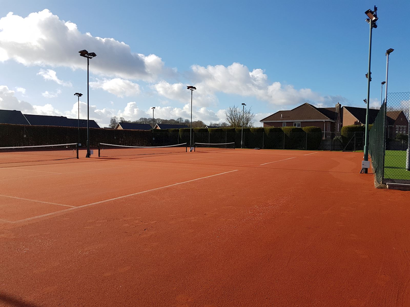 Outdoor all weather courts 2