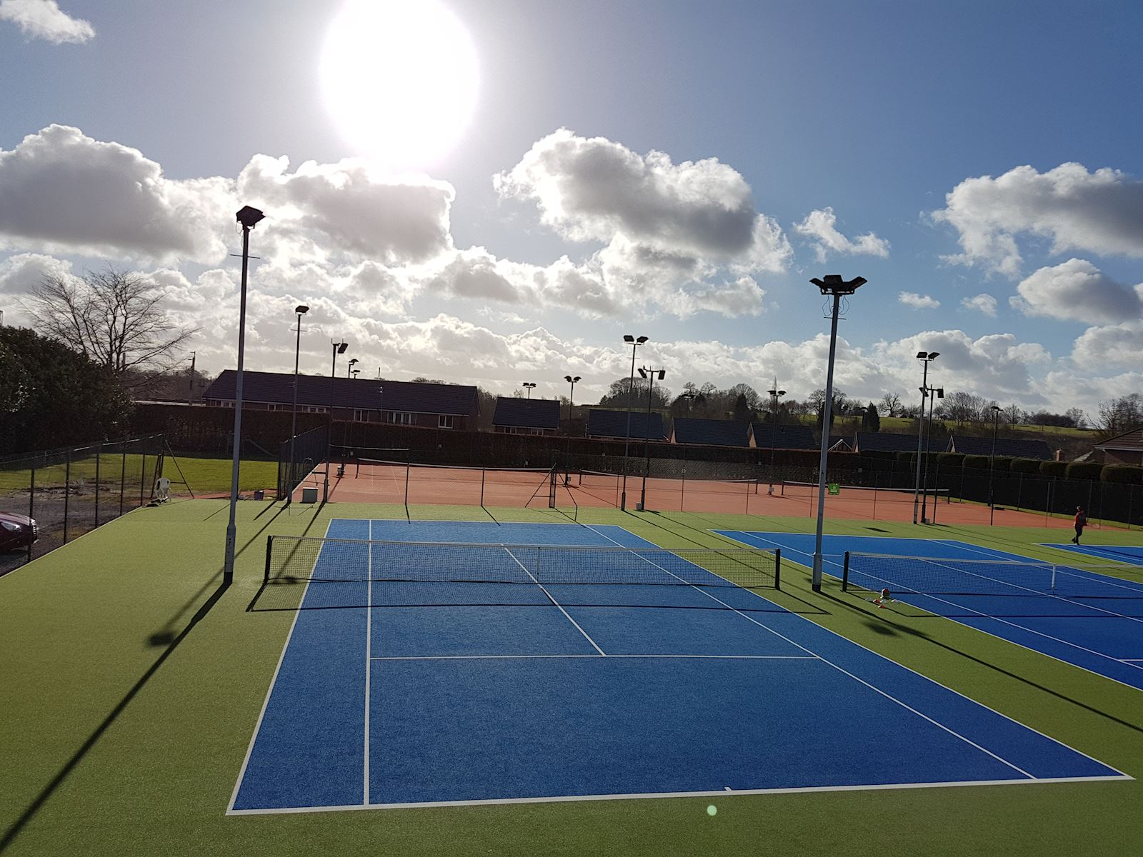Outdoor all weather courts 4