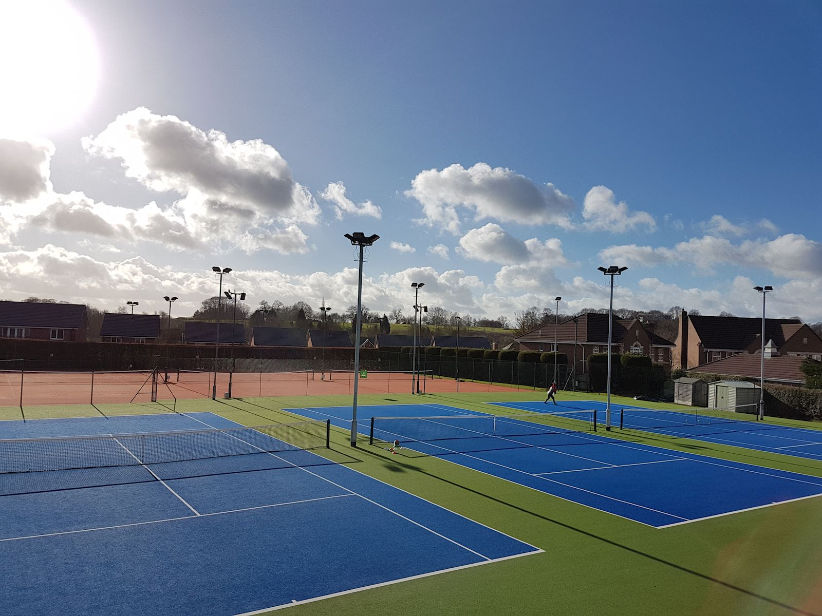 Outdoor all weather courts 5