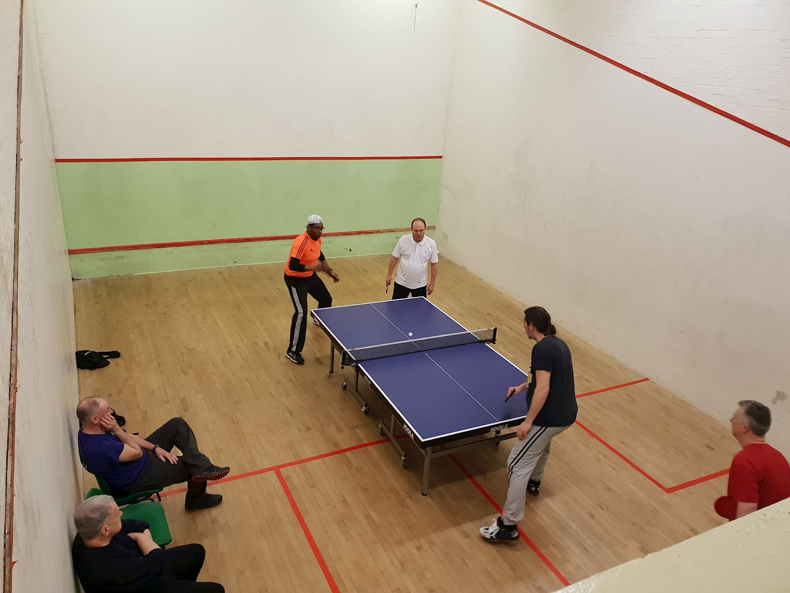 Indoor table tennis 1
