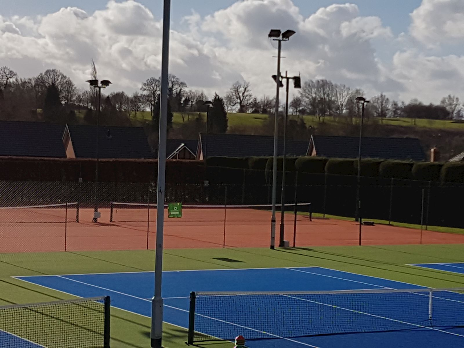 Outdoor all weather courts 6