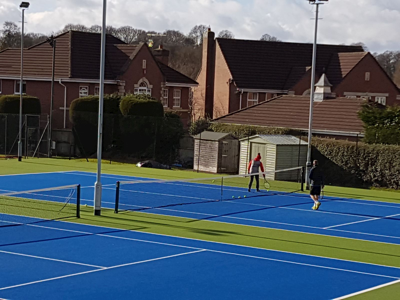 Outdoor all weather courts 7