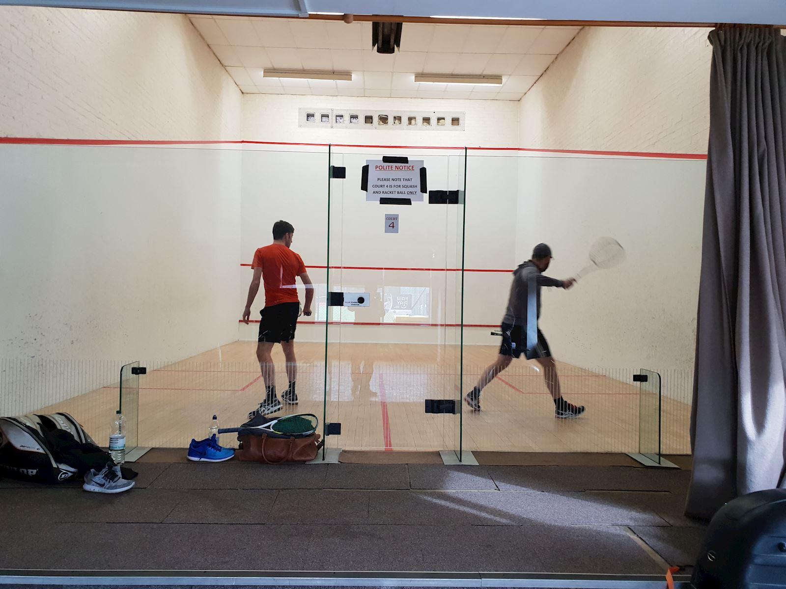 Squash courts 1