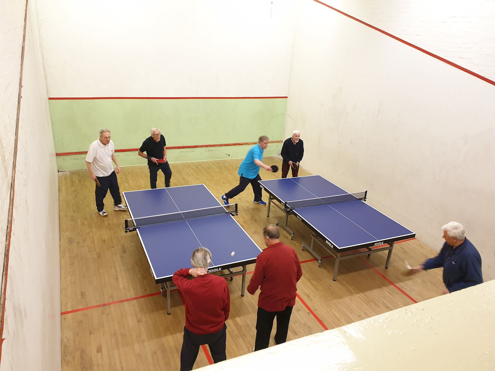 Indoor table tennis 2